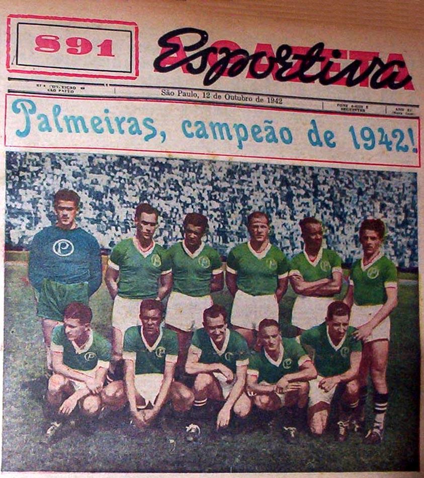Palmeiras 1942: a sina de um gigante