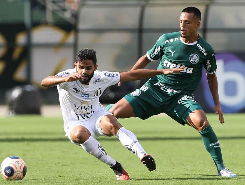 Santos x Palmeiras – Campeonato Paulista 2020 – Primeira Fase
