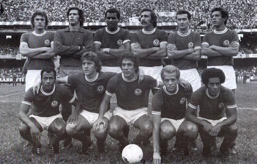 Time do Palmeiras em 1974.
