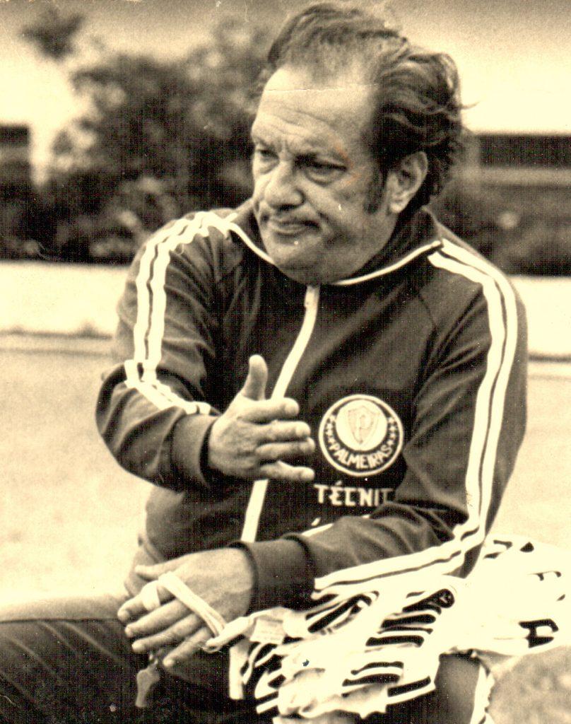 Filpo Núñez comandando o Palmeiras.