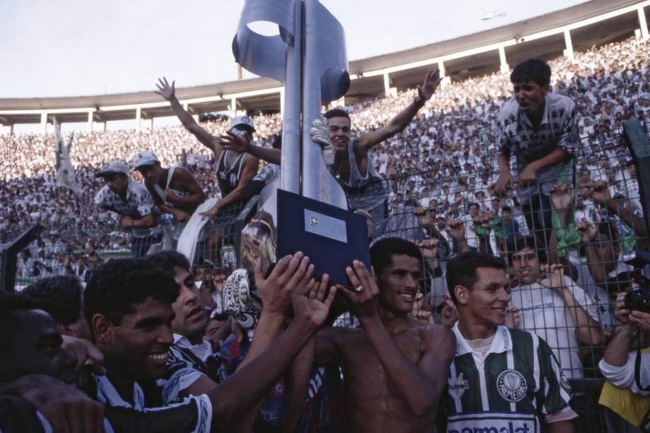 Palmeiras campeão no Pacaembu